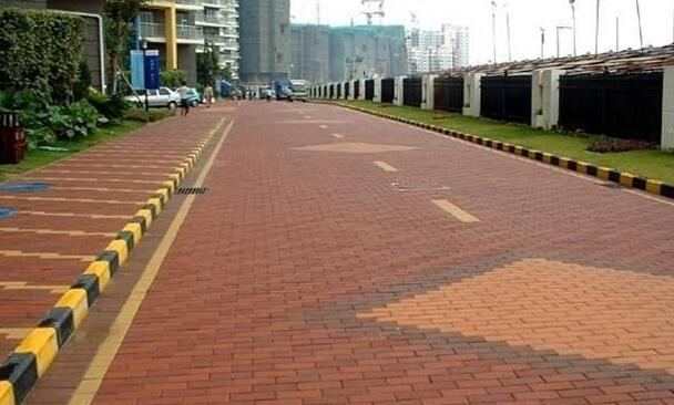 Cc30彩色路面砖生产工艺方案