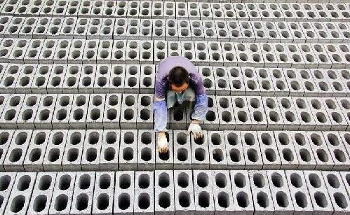 水泥砖制作工艺操作