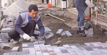 荷兰砖铺装施工技术交底