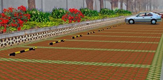 草坪砖的铺设工艺