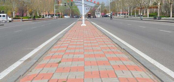 路面砖铺设方法