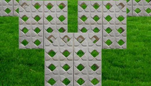 混凝土植草砖概述、应用及施工方法