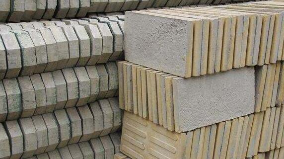 水泥砖原料配方和规格尺寸标准