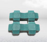 如何干铺陶瓷透水砖